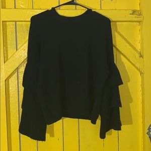 "Black ""who what wear"" sweater."